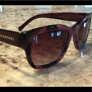 e571e92a54c9 Burberry Accessories - Burberry sunglasses black and purple frames